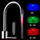 temperature changing led faucet