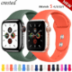 rubber band apple watch strap